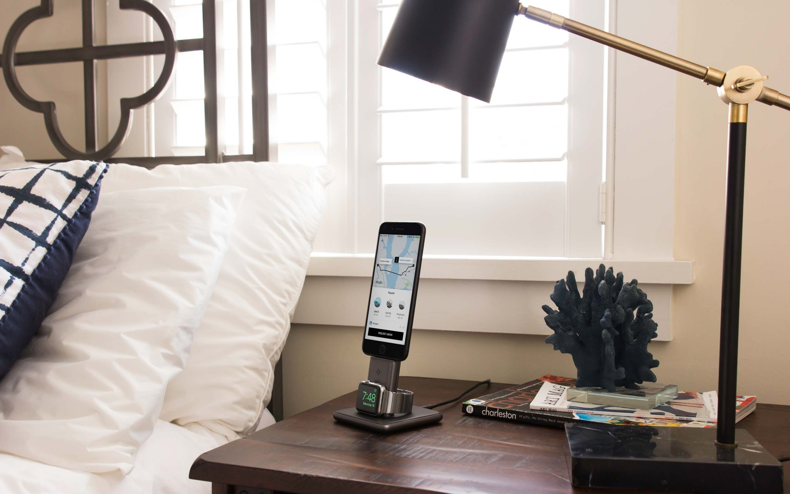 Twelve South Announces 'HiRise Duet' Dual Charging Stand for iPhone and Apple Watch